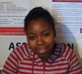 Patricia, stagiaire chez C.I.E.U.X