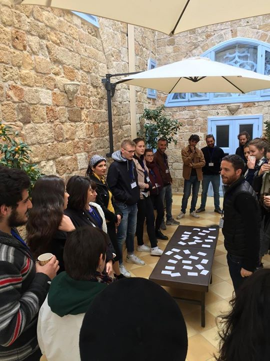 En Service Civique avec CIEUX et l'IVA (Israeli Volunteer Association) en Israël, les volontaires ont participé à un séminaire le 7