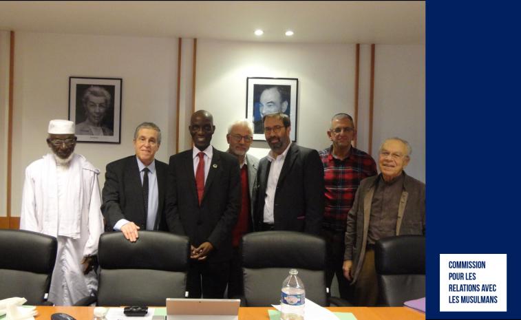 #Crif - La Commission pour les relations avec les Musulmans du Crif a reçu la FFAIACA